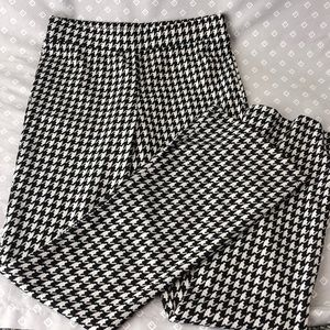 Forever 21 Stretchy Houndstooth Pants